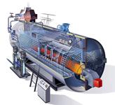 Пример расчета энергозатрат на производство одной тонны пара